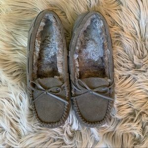 BRAND NEW WOT Faux Fur Lined Moccasins